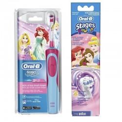 Електрическа четка Oral-B D12.513.K Princess за деца + 2бр.