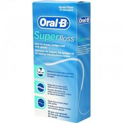 Копринен конец Oral-B Superfloss 50m