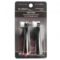 2 Резервни глави за електрическа четка GTS1050 Black Dr.Mayer