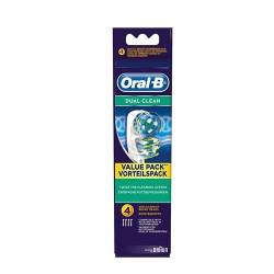 Rezerva 4 capete periuta Oral-B EB-417 Dual Clean
