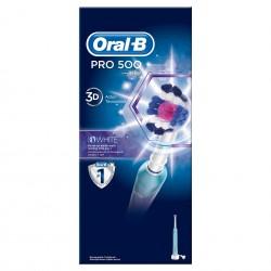 Oral-B PRO 500 3DW Електрическа четка за зъби