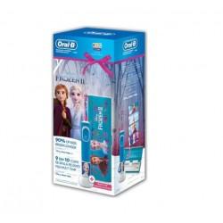Set periuta el. Oral-B Vitality Frozen + caseta calatorie