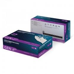 Manusi latex nepudrate Gen-X marimea L Smart Glove