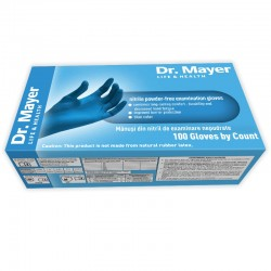 Manusi examinare nitril Blue marimea XS Dr. Mayer