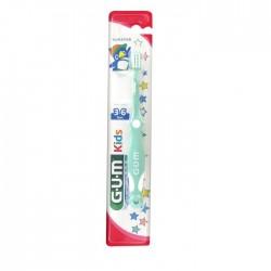 Четка за зъби GUM Kids 3-6 години Ultra Soft Green