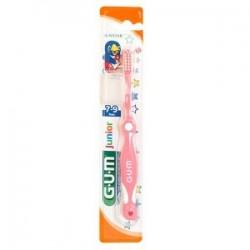 Четка за зъби unior Gum 7-9 години Ultra Soft Pink