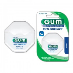 Конец за зъби с восък Gum Butlerweave 55m
